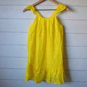 Crazy 8s Yellow Sundress L NWT